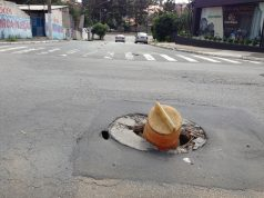 Buraco na Rua Italina