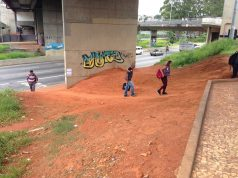 Problemas no acesso à estação de trem Dom Bosco