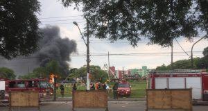 Incêndio na Avenida Itaquera