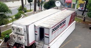 Poupatempo Móvel atende na Estrada do Iguatemi, 2.751, dentro do estacionamento do Supermercado Negreiros