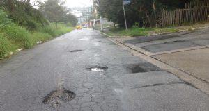 Rua Bartolomeu Ferrari, no Bonifácio