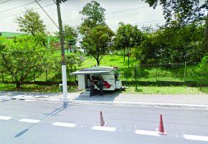 Avenida Afonso de Sampaio e Souza. Moradores do Parque do Carmo contavam com a ajuda de uma base móvel para conter a prostituição e assaltos