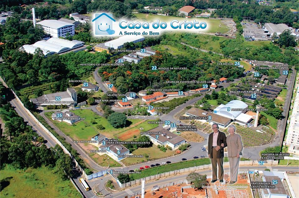 Casa do Cristo Redentor em Itaquera