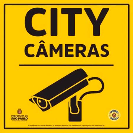 A proposta do City Câmeras é de instalar dez mil câmeras em São Paulo