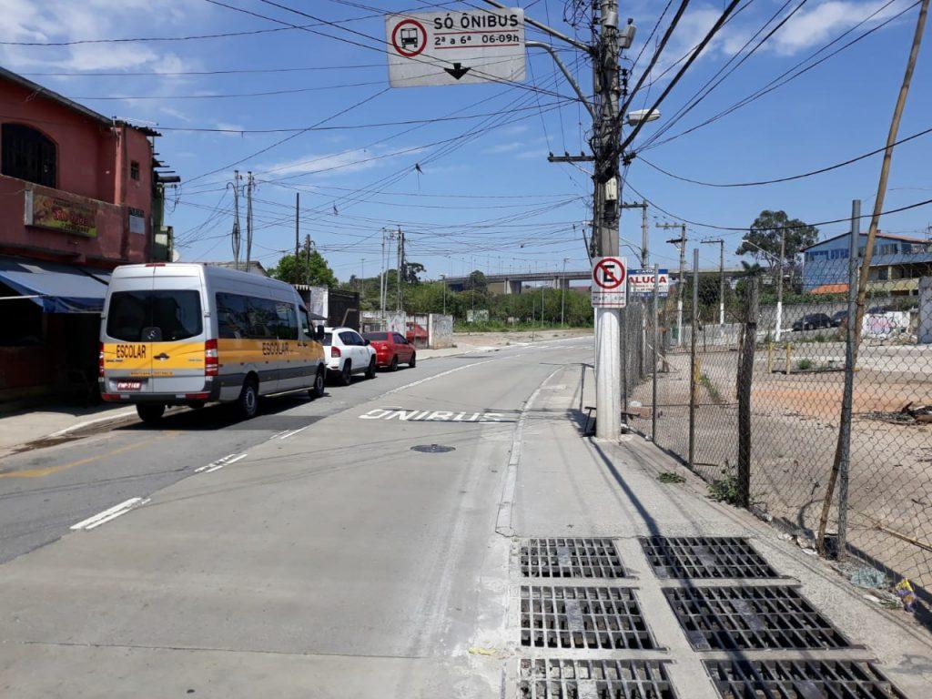 Ciclistas não setem segurança na Rua Tomazzo Ferrara