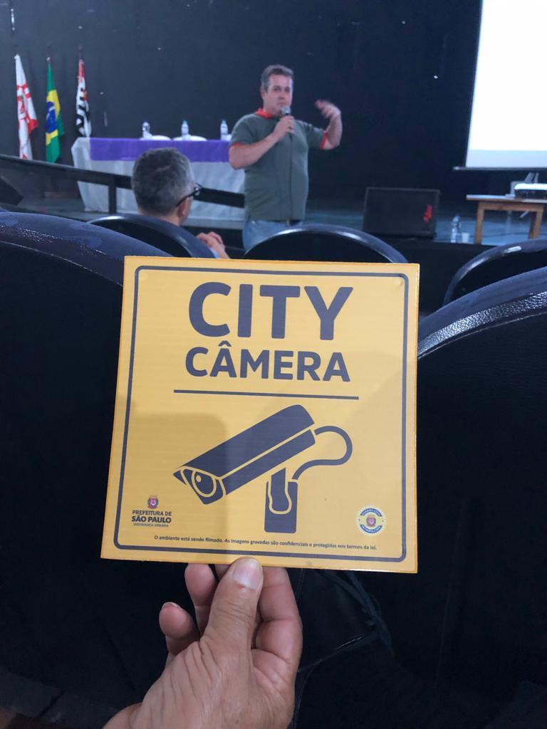 Programa City Câmeras em Itaquera