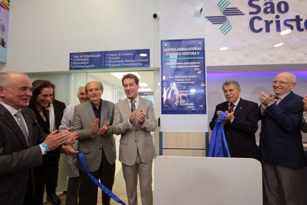 Fotos da inauguração do Centro Ambulatorial Américo Ventura, em Itaquera, com a presença do CEO do São Cristóvão Saúde, Valdir Ventura