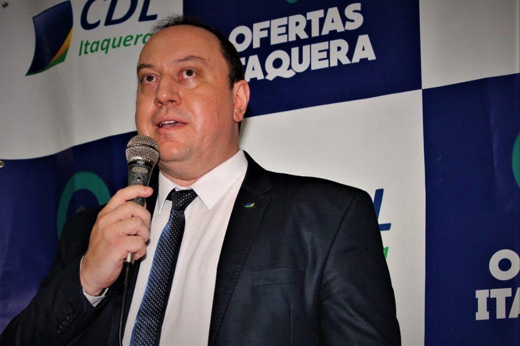 Roger Fildimaque, presidente da CDL Itaquera