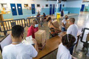 Alimentos foram entregues na sede da Obra Social Dom Bosco em Itaquera